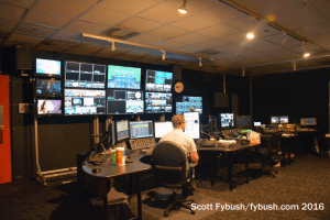WDIV control room