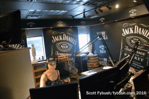 WSIX Jack Daniels studio