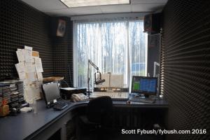 WHUG's studio