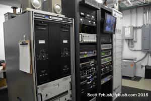WMFD transmitter room