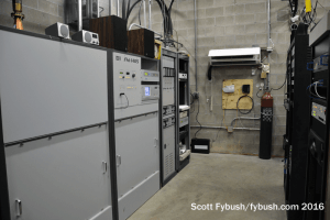 WBAA-FM transmitter room