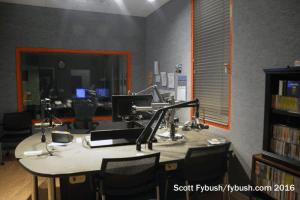 WCNY-FM studio