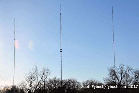 72nd Street TV towers