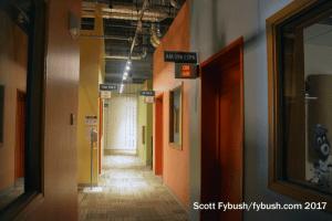 Scripps radio hallway