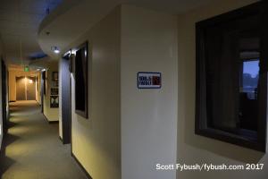 Studio hallway