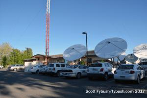 KREX-TV tower base
