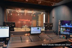 Music control room