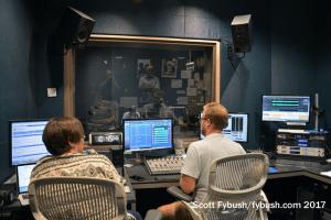 Talk control room