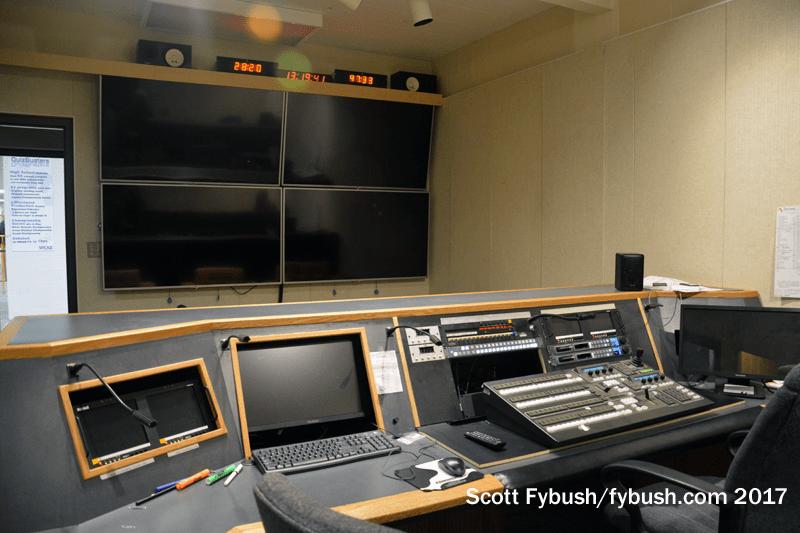 WILX control room