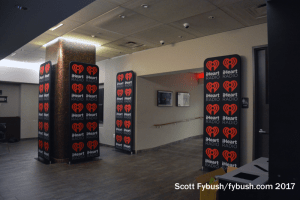 iHeart performance studio lobby