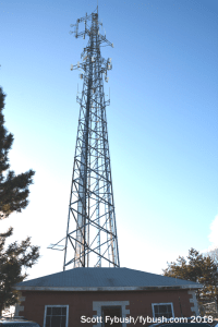 WZXV's tower