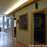 WFLR hallway
