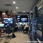 TV control room