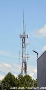 Translator tower, from WKTV