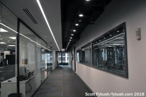 2018: newsroom hallway