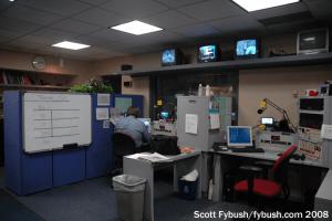 1986: newsroom