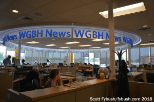 "WGBH/""The World"" newsroom"