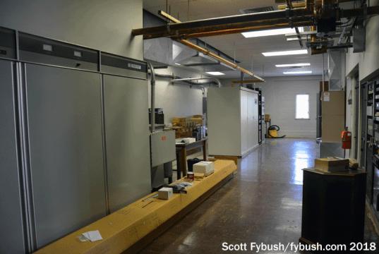 WHAM's transmitter room