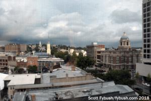 Macon's skyline