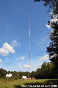 WGXA's tower