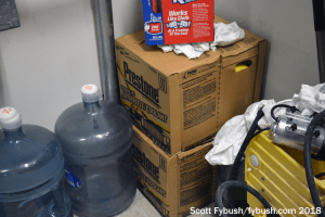 Spare coolant supply