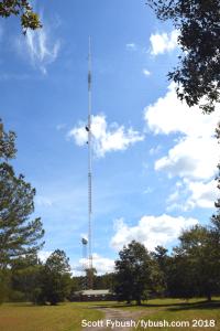 WMAZ's tower