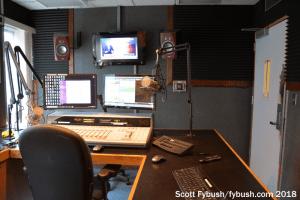 WRUF-FM studio