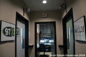 WSUN/WDUV hallway