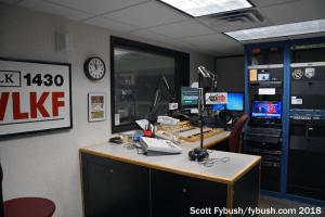 WLKF control room