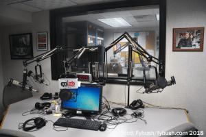 WLKF talk studio