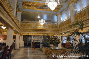 French Lick resort lobby