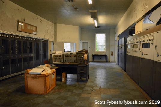 Main transmitter hall