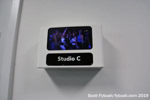 iHeart studio signage