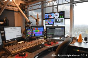KHMX 96.5 studio