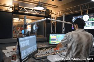 KILT 610 control room