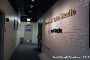 KLRN studio hallway