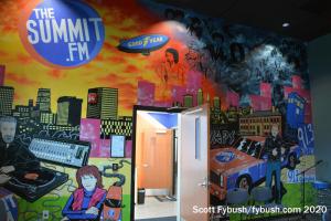 Performance studio mural