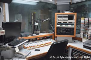 WGHT main studio
