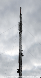 Albany TV tower