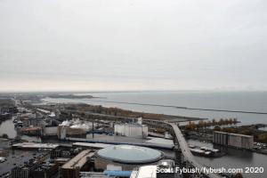 Buffalo's harbor and arena