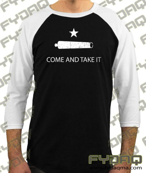 Gonzales-Come-and-Take-It-Cannon-raglan-white-sleeve-black-body