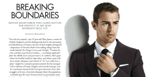 "Digital Scan of Theo James Article in Modern Luxury ""Angeleno"" Magazine (March 2014 Issue)"