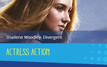 tca shailene - divergent - action