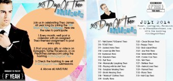 Introducing a New F'YEAH THEO JAMES Feature: The '365 Days of Theo' Challenge