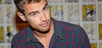 Theo James Keeps It Casual In Flannel