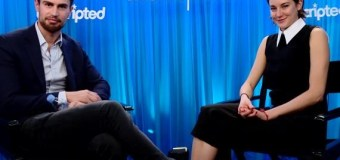 Watch: Shailene Woodley and Theo James Moviefone 'Unscripted' Interview