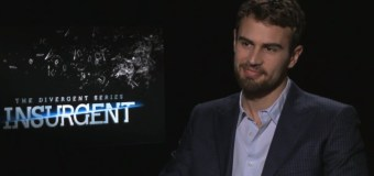 Theo James Discusses Downton Abbey, Insurgent, and Adapting as a Performer