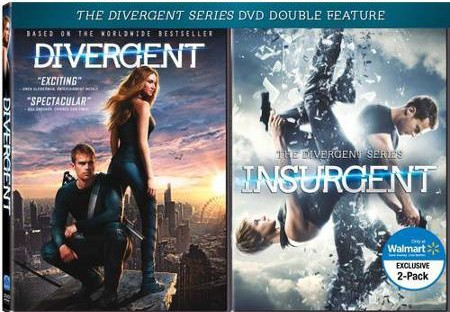 walmart insurgent dvd double feature