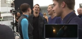 Video: Theo James Stars in 'Insurgent' Blu-ray Preview