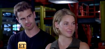 WATCH: Shailene Woodley & Theo James Tackle 'The Wall' in 'Allegiant'